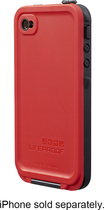 LifeProof - Case for Apple® iPhone® 4 and 4S - Red