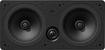 "Definitive Technology - Disappearing Dual 5-1/4"" In-Wall Speaker (Each) - Black"