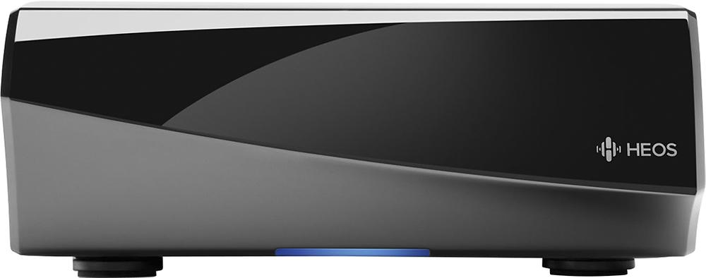 Denon - HEOS 200W 2.0-Ch. Wireless Class D Amplifier - Silver/Black