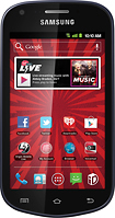 Virgin Mobile - Samsung Galaxy Reverb No-Contract Mobile Phone - Black