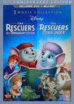 Rescuers: 35th Anniversary Edition/the Rescuers Down Under [3 Discs] [dvd/blu-ray] 5994976