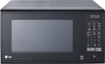 LG - 1.1 Cu. Ft. Mid-Size Microwave - Smooth Black