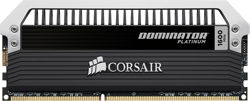 Corsair - Dominator Platinum 2-Pack 8GB PC3-12800 DDR3 Dimm Desktop Memory Kit - Multi