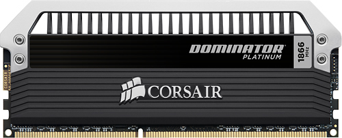 Corsair - Dominator Platinum 2-Pack 4GB PC3-15000 DDR3 Dimm Desktop Memory Kit - Multi