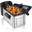 Hamilton Beach - 8-Cup Deep Fryer - Stainless-Steel