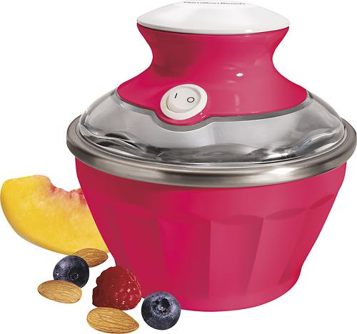 Hamilton Beach - Half Pint Soft-Serve Ice Cream Maker - Watermelon