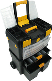 Trademark Games - Trademark Tools Deluxe Mobile Workshop - Black/Yellow