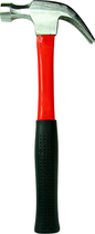 Trademark Games - Trademark Tools Heavy-Duty 16-Oz. Claw Hammer - Black