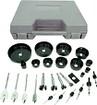 Trademark - Trademark Tools 31-Piece Hole Saw and Drill Bit Kit
