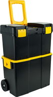 Trademark Games - Trademark Tools Mobile Tool Box - Black/Yellow
