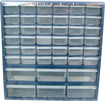Trademark Games - Trademark Tools Deluxe 42-Compartment Storage Box - Clear