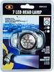 Trademark - Super Bright 7-LED Headlamp - Black/White