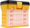 Trademark Games - Trademark Tools 53-Compartment Storage Box - Black