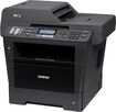 Brother - MFC-8710DW Wireless Black-and-White All-In-One Printer - Black