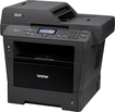 Brother - DCP-8155DN Black-and-White All-In-One Printer - Black