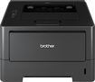 Brother - Network-Ready Black-and-White Printer - Black