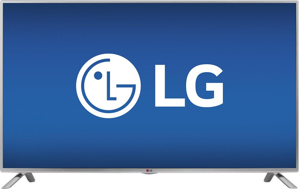 """LG - 50"""" Class (49-1/2"""" Diag.) - LED - 1080p - HDTV - Silver"""