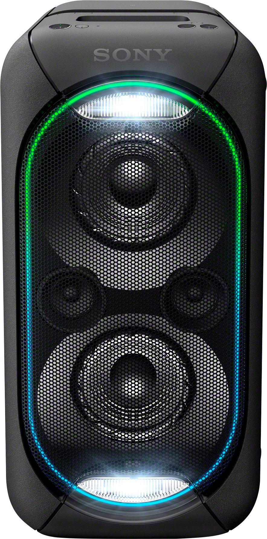Sony - High Power XB60 Portable Bluetooth Speaker - Black - Larger Front b822d436750ca