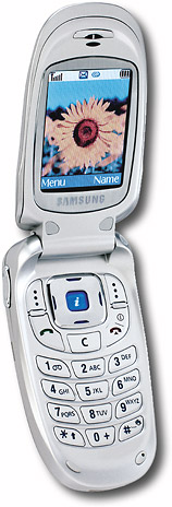 Samsung GSM/GPRS Phone with Wireless Internet and Enhanced Messaging Service (Cingular)
