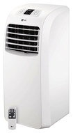 LG - 8,000 BTU Portable Air Conditioner - White