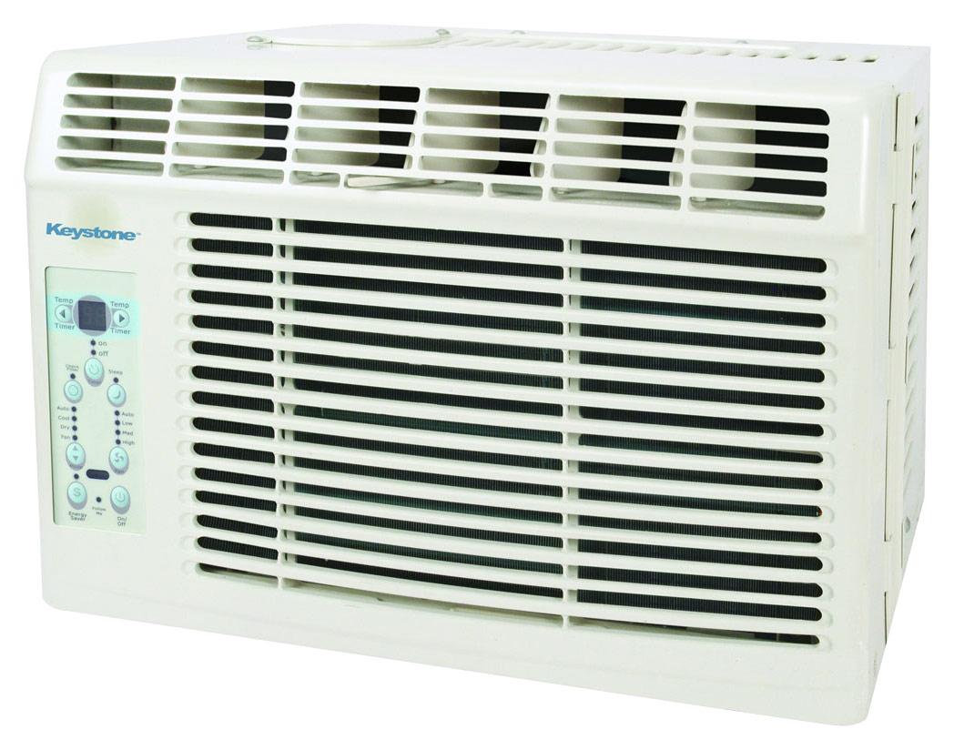 Keystone - 6,000 Btu Window Air Conditioner - White 6026455