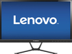 "Lenovo - 23"" IPS LED HD Monitor - Black"