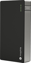 mophie - powerstation duo External Battery Pack Charger - Black