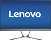 "Lenovo - 21.5"" IPS LED HD Monitor - Black"