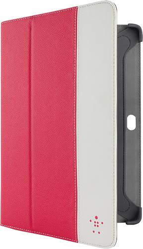 Belkin - Folio Case for Samsung Galaxy Tab 10.1 - Pink