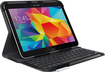 Logitech - Keyboard Folio Case for Samsung Galaxy Tab 4 10.1 - Black