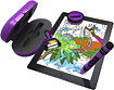 Griffin Technology - Crayola DigiTools Effects Deluxe Kit for Apple® iPad® - Purple