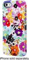 Speck - Case for Apple® iPhone® 5 and 5s - White/Purple