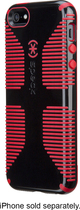 Speck - Candyshell Grip Case for Apple® iPhone® 5 and 5s - Black/Red