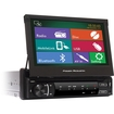 "Power Acoustik - Car DVD Player - 7"" Touchscreen LCD - Single DIN"