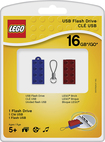 PNY - LEGO 16GB USB 2.0 Flash Drive - Colors Vary
