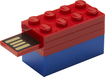 PNY - LEGO 8GB USB 2.0 Flash Drive - Colors Vary
