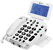 Geemarc - BDP400 Amplified Corded Phone System - White