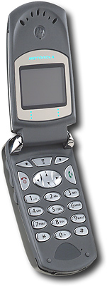 Motorola Dual-Mode TDMA/Analog Cell Phone with Color Display and Voice Digit Dialing (Cingular)