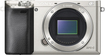Sony - Alpha a6000 Mirrorless Camera (Body Only) - Silver
