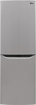 LG - 10.1 Cu. Ft. Counter Depth Bottom-Freezer Refrigerator - Stainless-Steel