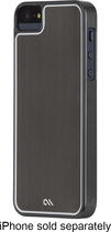 Case-Mate - Sleek Case for Apple® iPhone® 5 and 5s - Silver