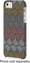 Case-Mate - Jessica Swift Dots Case for Apple® iPhone® 5 and 5s - Gray