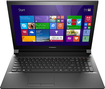 "Lenovo - 15.6"" Touch-Screen Laptop - Intel Pentium - 4GB Memory - 500GB Hard Drive - Black"