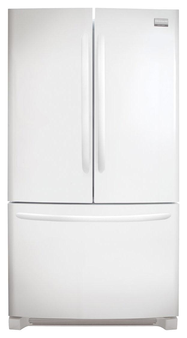 Frigidaire - 27.6 Cu. Ft. French Door Refrigerator - White