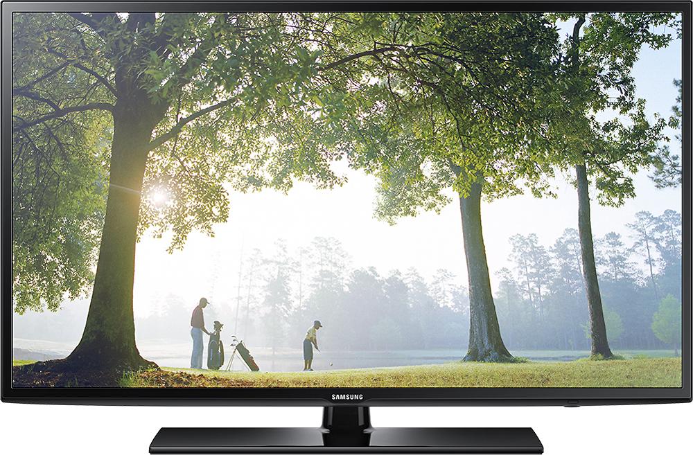 "Samsung - 40"" Class (40"" Diag.) - LED - 1080p - Smart - HDTV - Black"
