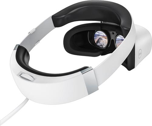 0597585ba1c Dell - Visor Virtual Reality Headset for Compatible Windows PCs - White -  Angle