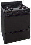 "Premier - 30"" Freestanding Gas Range - Black"