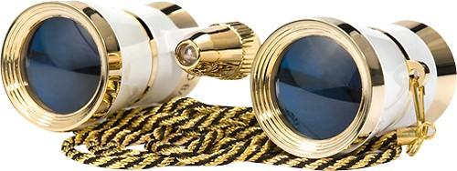 Barska - 3 x 25 Opera Glasses - Pearl White