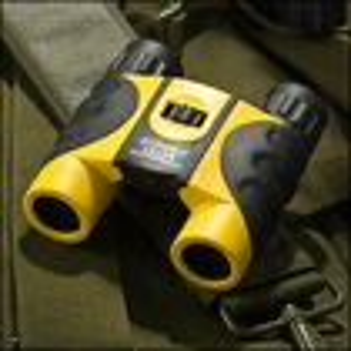 Barska - Colorado 12 x 25 Waterproof Binoculars - Yellow/Black
