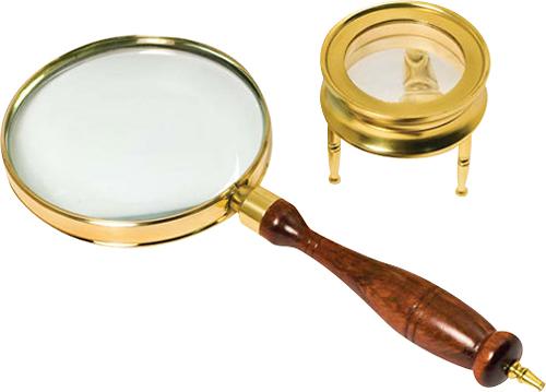 Barska - Magnifier Set - Brass